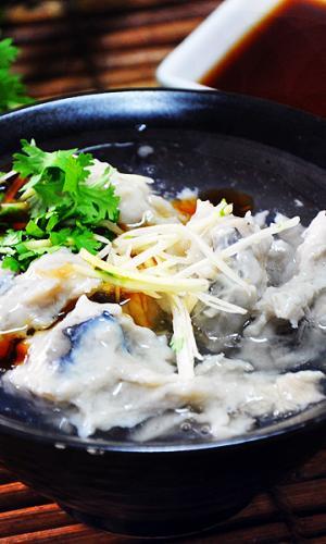 台南小吃叶凤浮水虱目鱼羹闻遐迩的老店美食