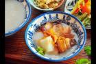 台南美食小吃阿乔师水粄粥蒸、煮、炒、炸、炖