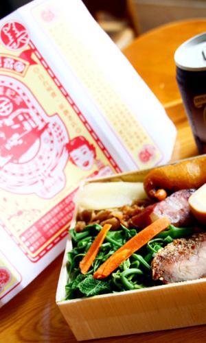 全美行池上便当台湾百大名店招牌叉烧肉