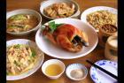 竹山鹿谷美食小竹屋餐厅颇具历史的竹筒饭