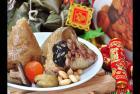 嘉义名产小吃福源肉粽跟着时代创新的脚步,研发多出种口味